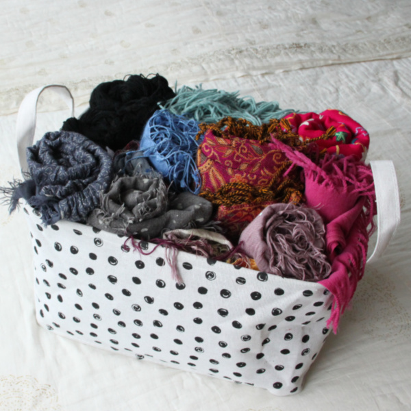 marie kondo opbergen shawls